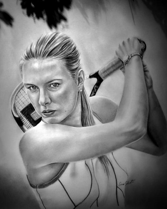 Maria Sharapova by ercansebat